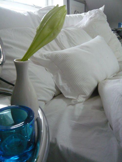 il profumo del letto appena fatto!