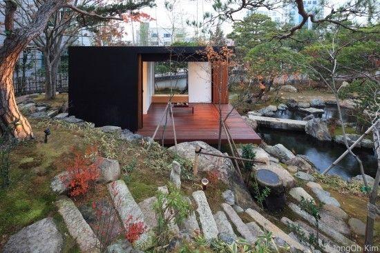 차 한잔 하고 싶은 정원속의 티 하우스 집 꾸미기 건축가 인테리어