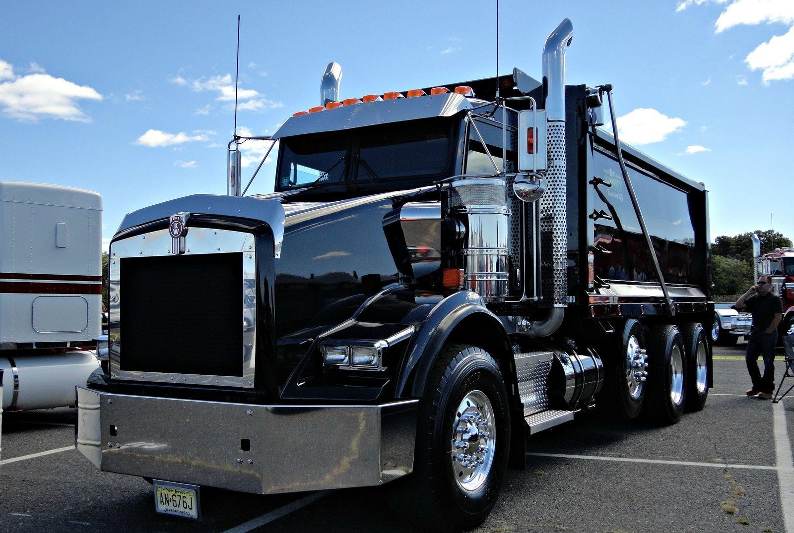 Nice Kenworth 10 Wheeler Dump Truck Dump Trucks Big Trucks Big Rig Trucks