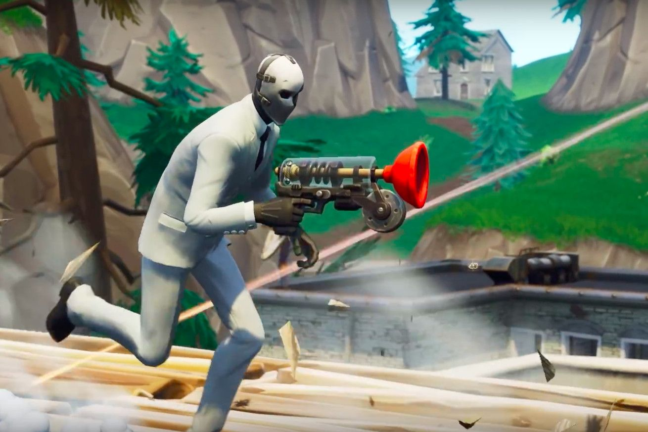 Fortnites new grappler weapon gives players gamechanging