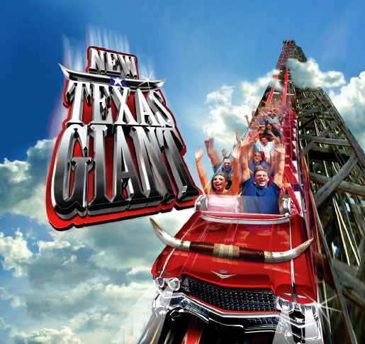 Woman Dies On Texas Giant At Six Flags Over Texas Six Flags Over Texas Six Flags Amusement Park Rides
