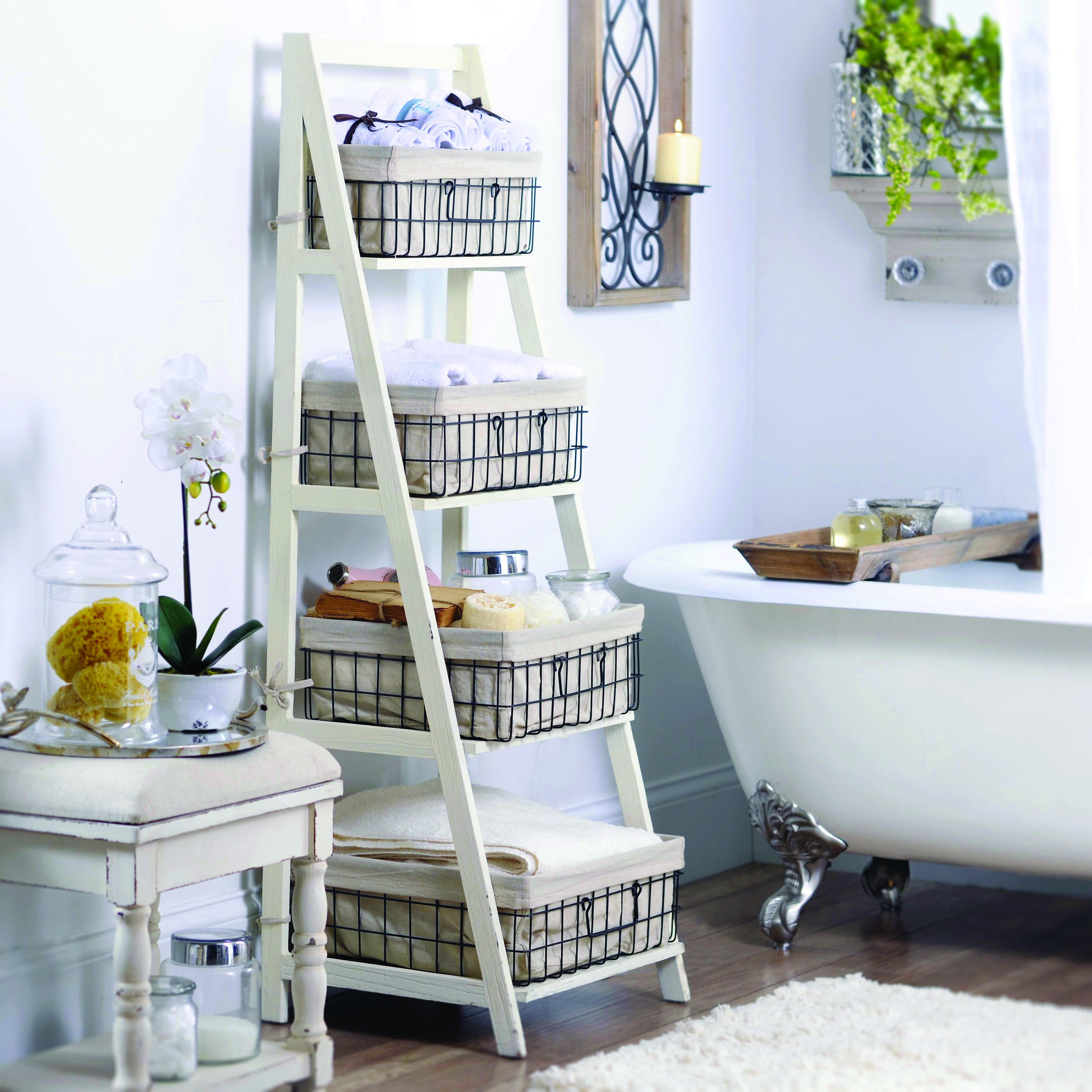 Unique Ladder Shelf Espresso For Your Cozy Home Wooden Ladder Shelf Shelves Ladder Shelf Decor