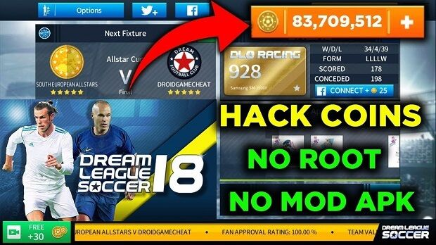 Dream League Soccer Mod Apk Play Hacks Free Games Game Resources