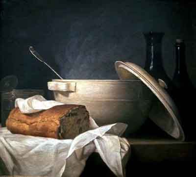 White Soup Bowl 1771 Anne Vallayer Coster Private Collection