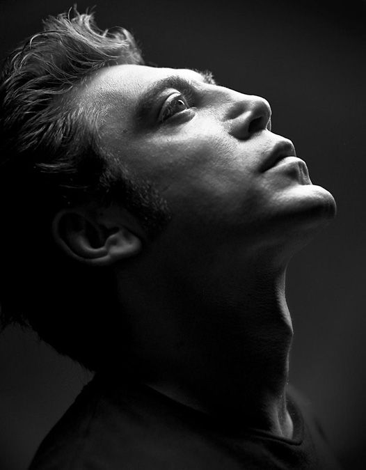 ♂ Black and white photography man portrait actor JAVIER BARDEM