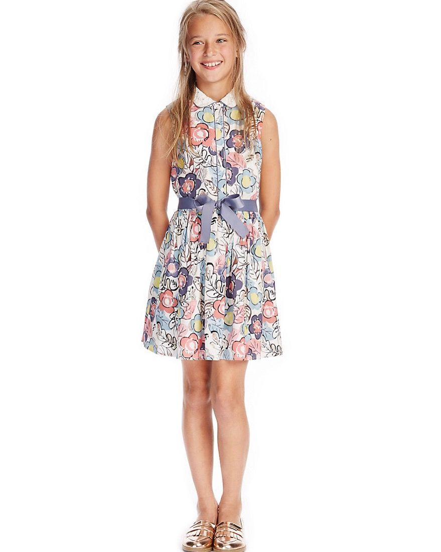 men/man online quality M and s | Little Humans | Dresses, Floral shirt dress, Girls ...