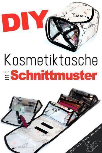 Schnittmuster für die geilste Kosmetiktasche ever | Schleifen binden ...