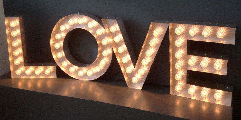 light letters wedding 2015 our wedding wedding stuff
