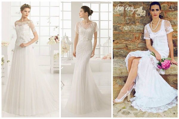 el catÁlogo de vestidos de novia el corte inglÉs: mangas las mangas