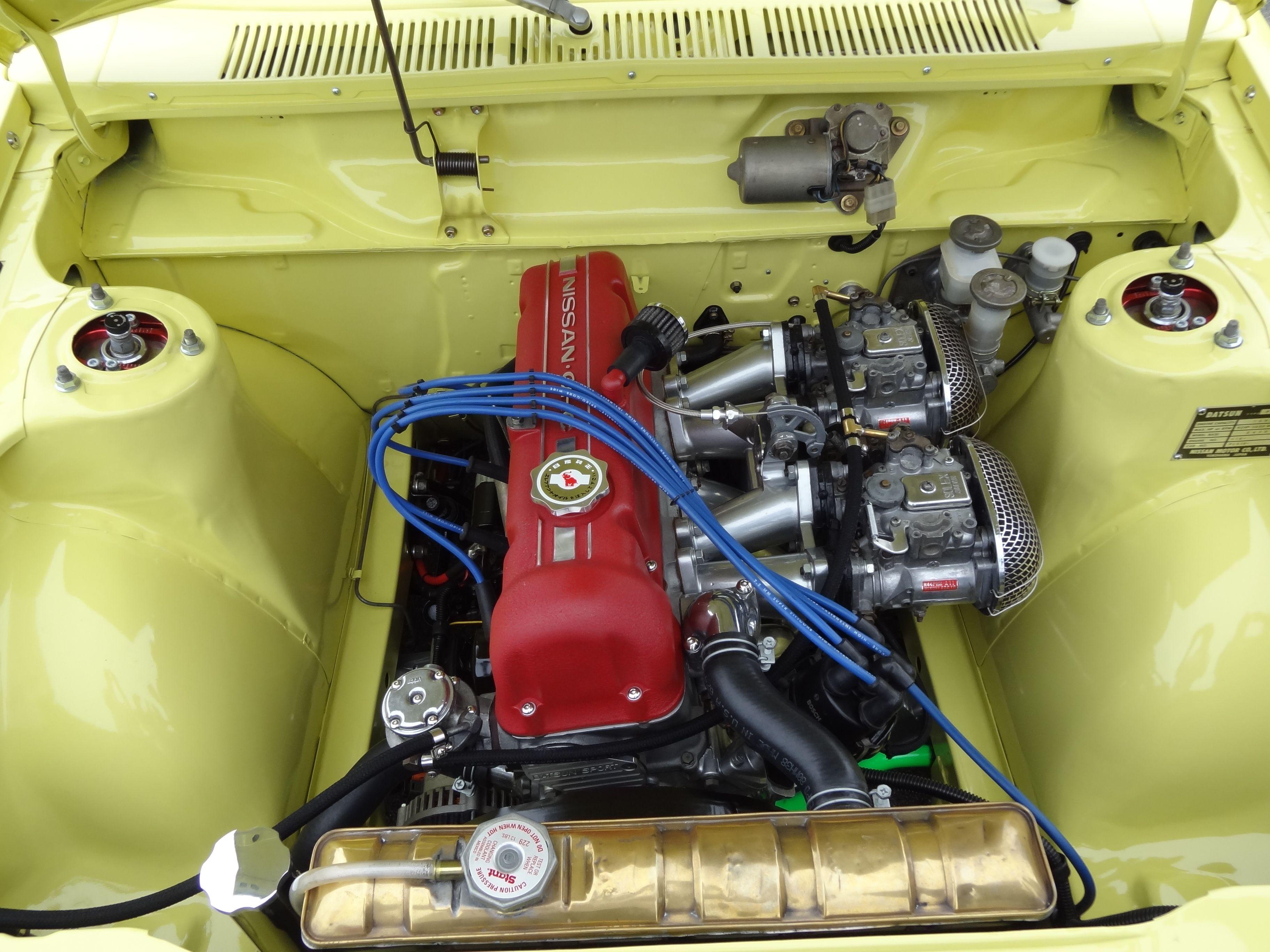 Image result for Nissan L18 engine bay | Datsun 720 4x4 ...