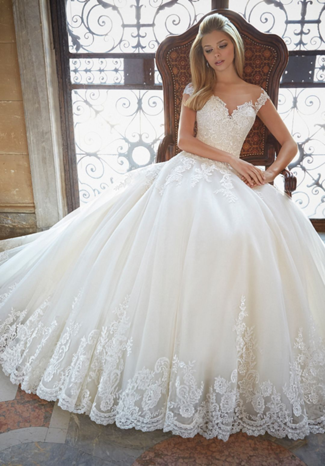 Cool 55 Most Beautiful White Wedding Dress Ball Gown Ideas For The Wondrous Bride S: Unique Ball Gown Wedding Dresses At Reisefeber.org