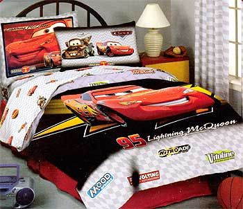 Disney's Cars Bedding Sheet Set - 4pc Boys Bed Sheet Set ...
