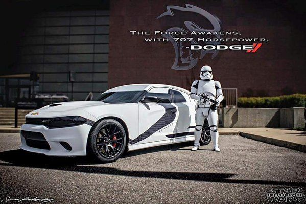 Dodge Charger Build >> Dodge Charger Hellcat Star Wars Storm Trooper Edition