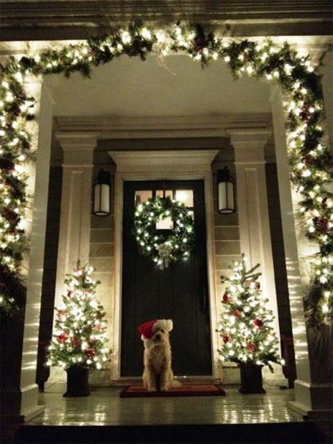 stunning christmas front porch decor ideas also rh pinterest