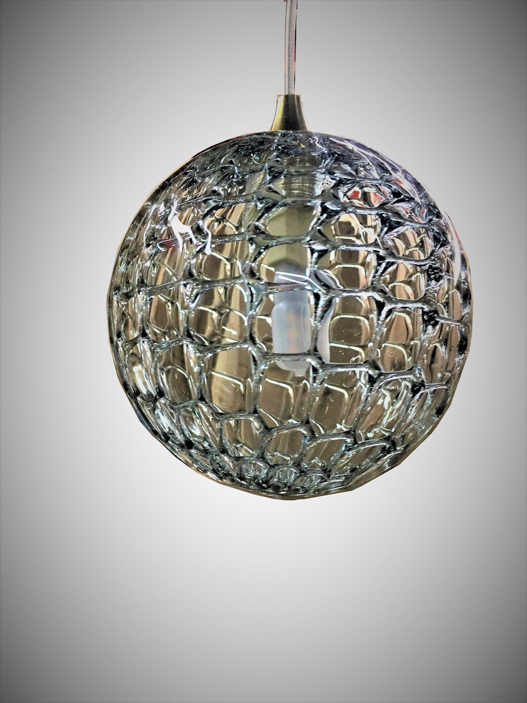 BLOWN GLASS globe pendant lighting modern foyer pendant lighti ...