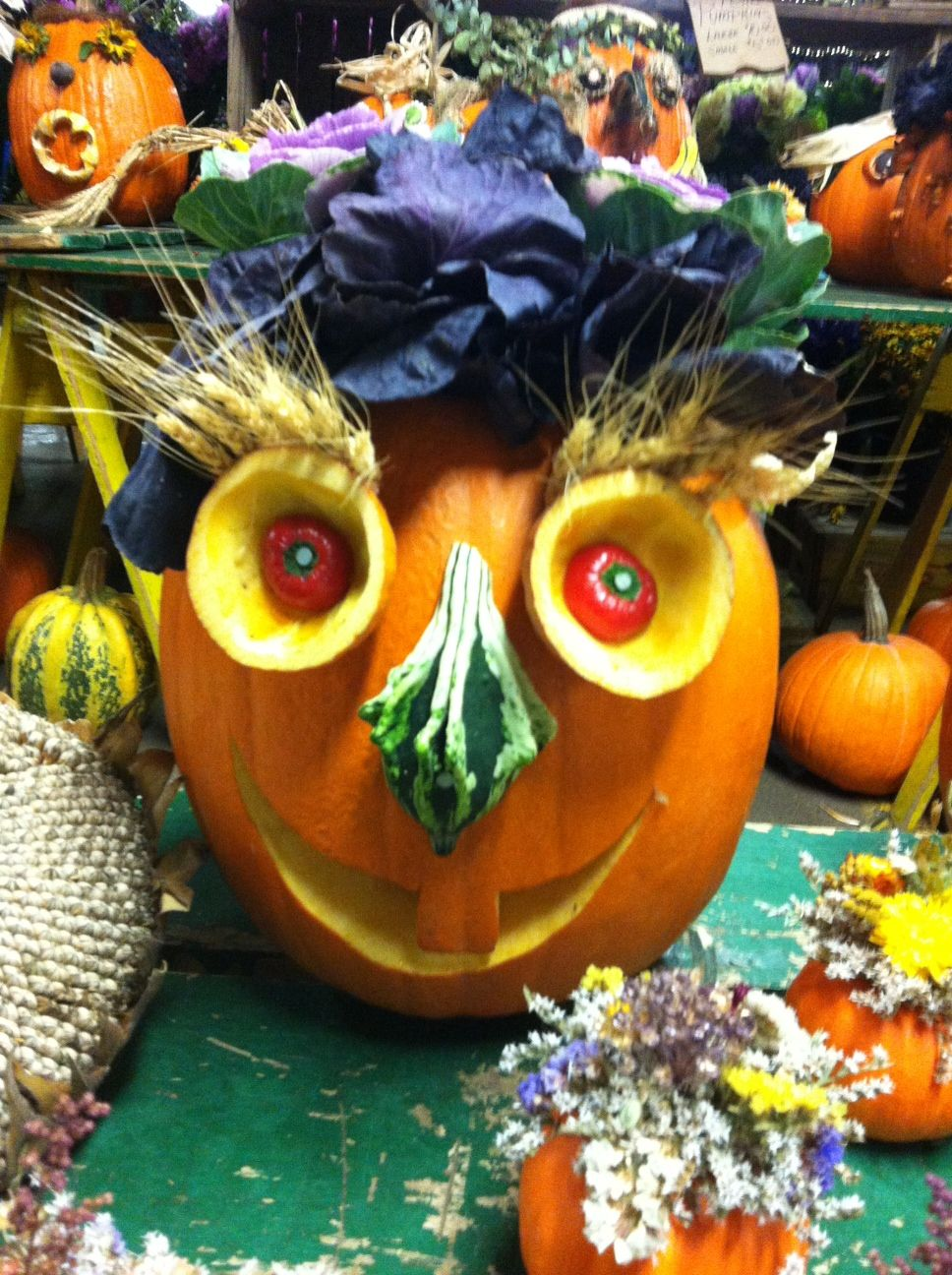 Funny Pumpkin Decorating Ideas | Pumpkins | Pinterest | Funny pumpkins