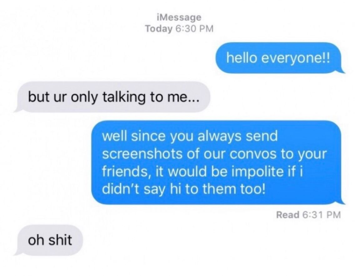 Goodvibesss Funny Text Messages Funny Messages Really Funny Memes