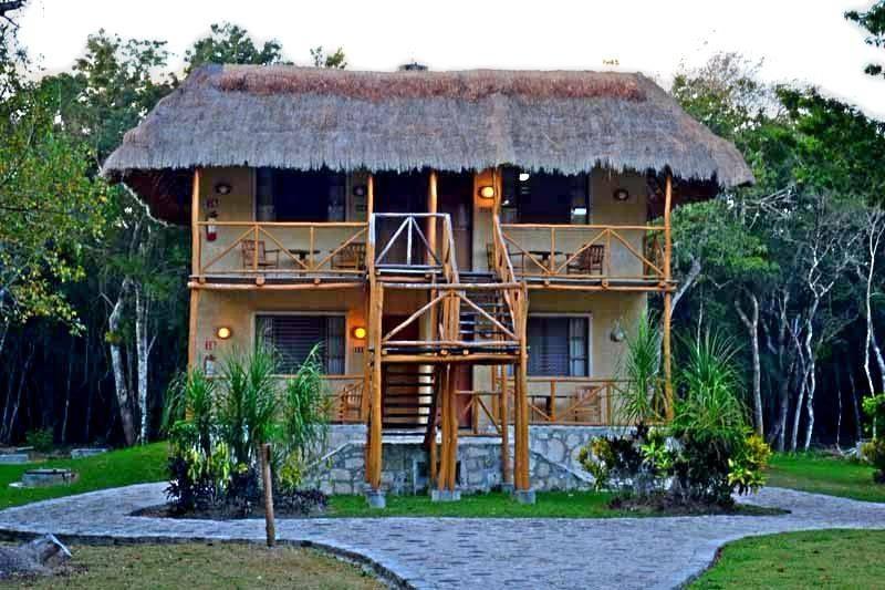 #ECOHOTELS #SWD #GREEN2STAY  Chicanná Ecovillage Resort  Chicanná Ecovillage Resort te ofrece 3 tipos de habitaciones, con capacidad máxima para 4 personas   http://www.green2stay.com/mex-sth-america-eco-hotels