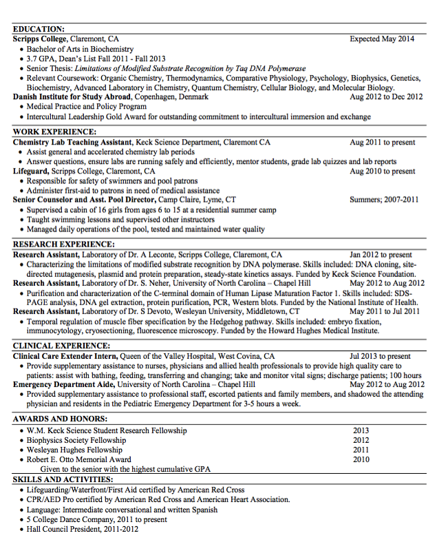 Sample Lifeguard Resume  HttpExampleresumecvOrgSample