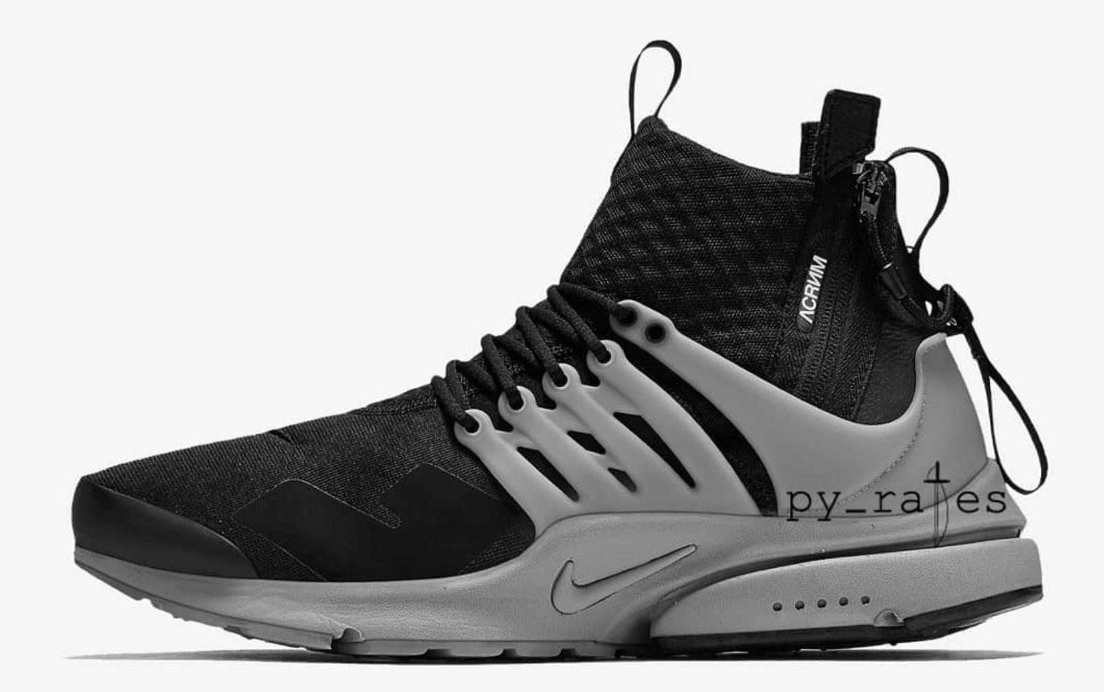 89a1bd1a270b Acronym x Nike Presto Mid 2018 Collaboration