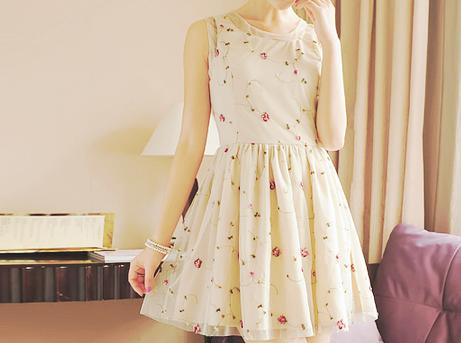 Korean fashion tumblr dress