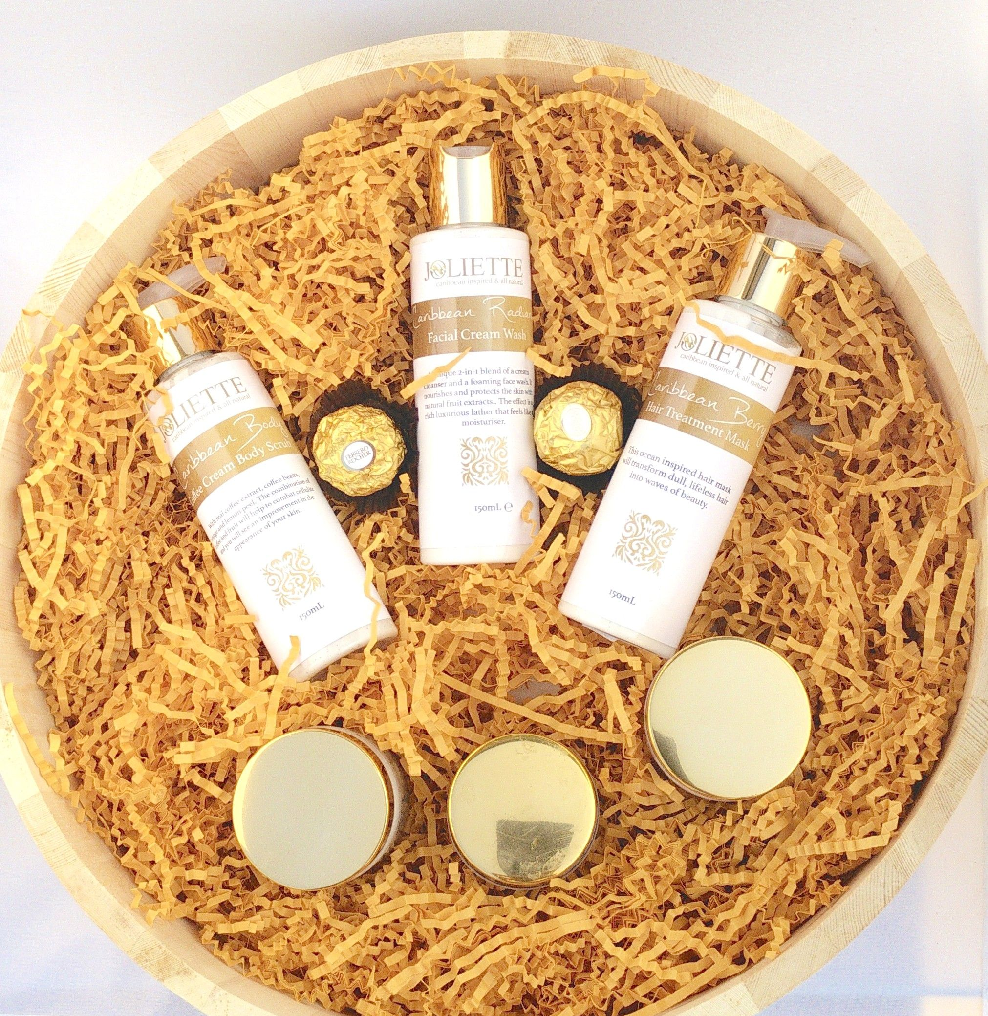 our largest circular hamper from joliette £70. 6 products! http