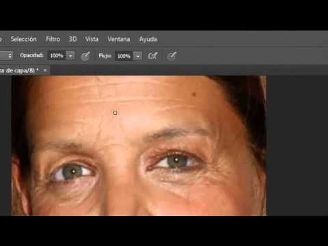 Como Quitar Las Arrugas Con Photoshop Cs6 2013 Tutoriales Photoshop Photoshop Recursos Photoshop
