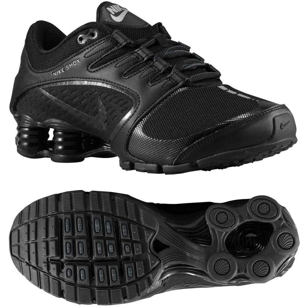 New Women's Nike Shox Vaeda Size 7.5 - Black Running Shoes 678632-002 #Nike