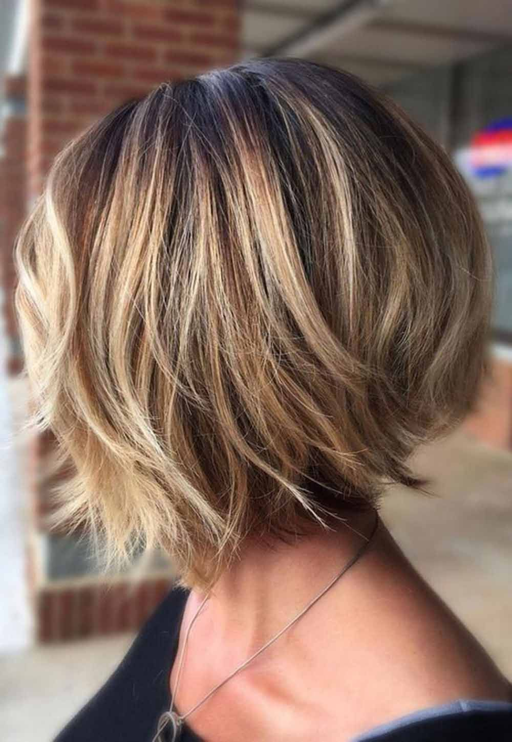 30 Gorgeous Short Bob Hairstyles For Thick Hair 2020 Bob Hairstyles Medium Hair Styles Thick Hair Styles