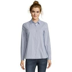 Photo of Tom Tailor Denim Ladies blouse top with lace trim, white, plain-colored, size M Tom TailorTom Tailor