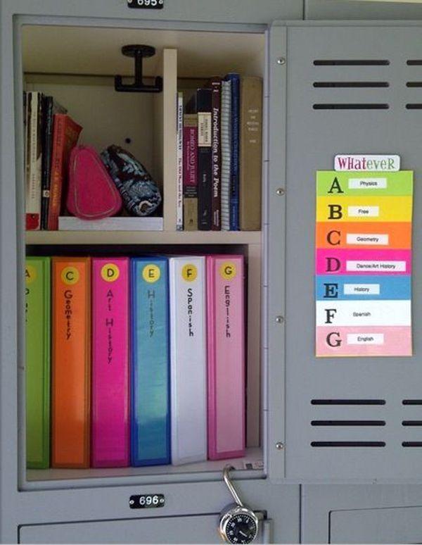 15 Back To school Organization For Kids | SCHOOL ...