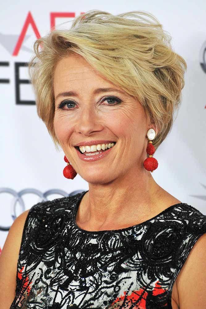 short hairstyles over 40 Simple  ...