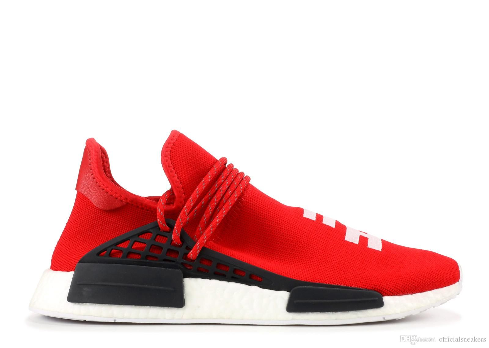 748a5ea5f Newest 2018 Human Race Pharrell Williams Hu trail Men Womens Running ...