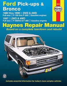 Manualspro On Twitter Bronco Repair Manuals Ford Pickup
