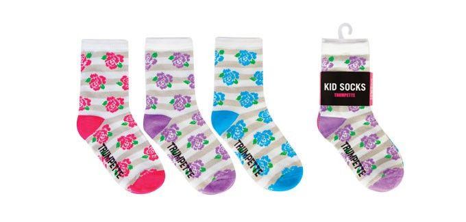 Trumpette Kids Roses Socks (4-7y)