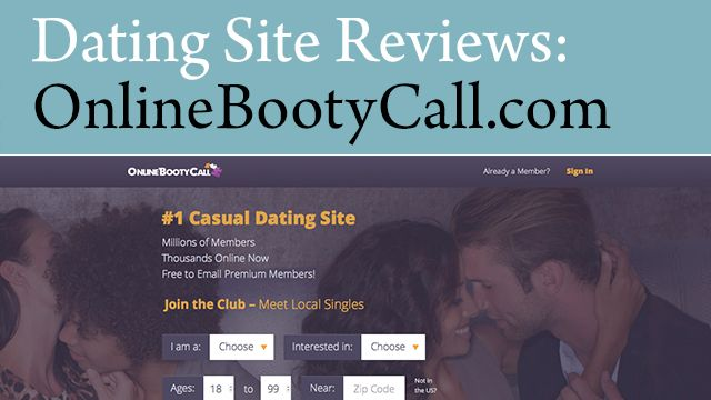 Bootycall dating site