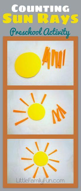 Preschool Themed Activities:  Sun Theme