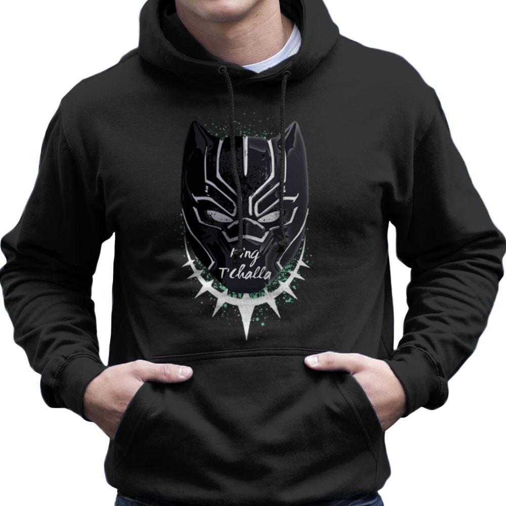 Black Panther King T Challa Men s Hooded Sweatshirt  6d738c325