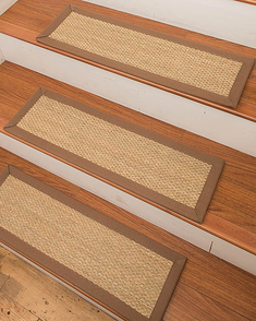 Best Positano Seagrass Carpet Stair Treads Carpet Stairs 400 x 300