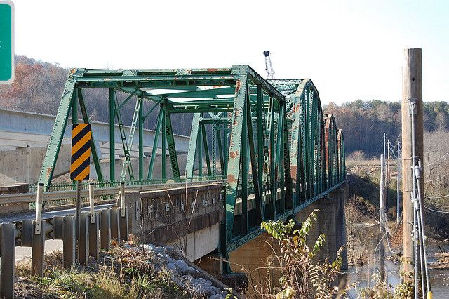 Newport, Tennessee-Still have greenbridge nightmares! That was one skinny bridge-
