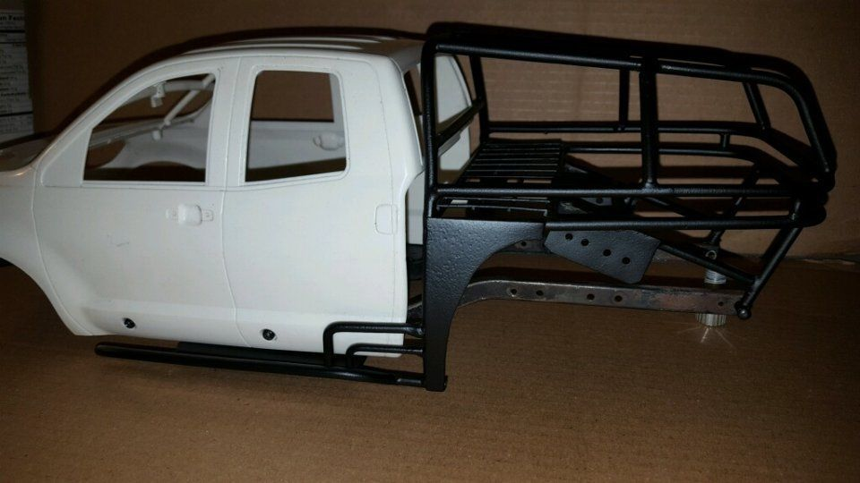 Rear Roll Cage for Axial scx10 w/Tamiya Tundra Body Mounts for RC ...