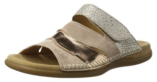 Gabor Shoes Damen Fashion Pantoletten, Beige (Rame 64), 37 EU