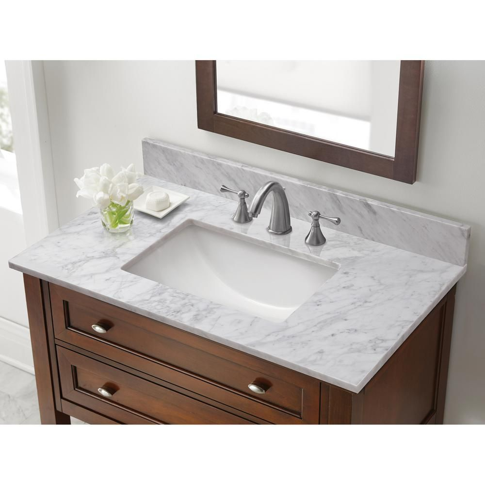 Pegasus 4 in. x 4 in. White Carrara Marble Sample | Carrara marble ...
