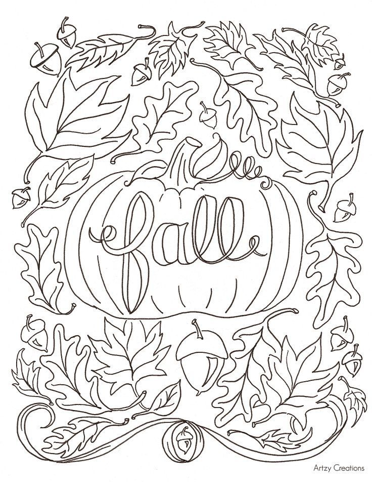 Favourite Fall Colouring #blogger #autumn #fall #colouring #coloringsheets