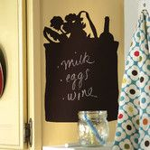 Found it at Wayfair - Tote Bag Chalkboard Murral