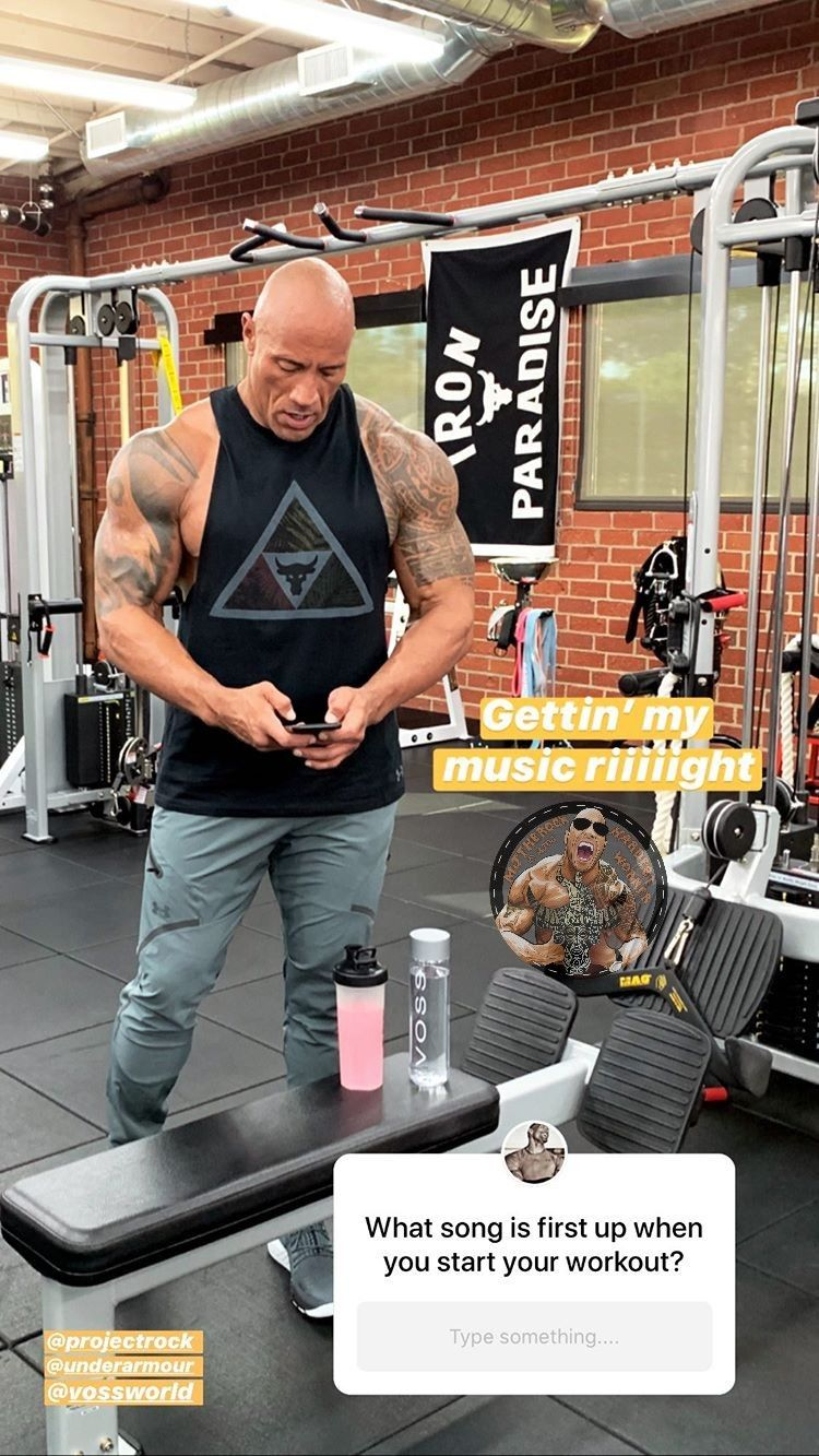 My Song List For You Go Check Insta The Rock Dwayne Johnson Workout Aesthetic Dwayne The Rock