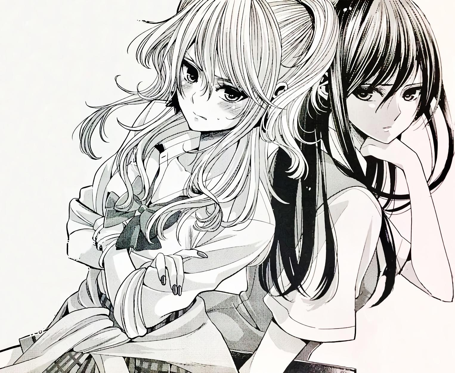 シトラス Citrus アニメ Yuzu X Mei Saburouta サブロウタ Citrus Manga Citrus Image Yuri Manga