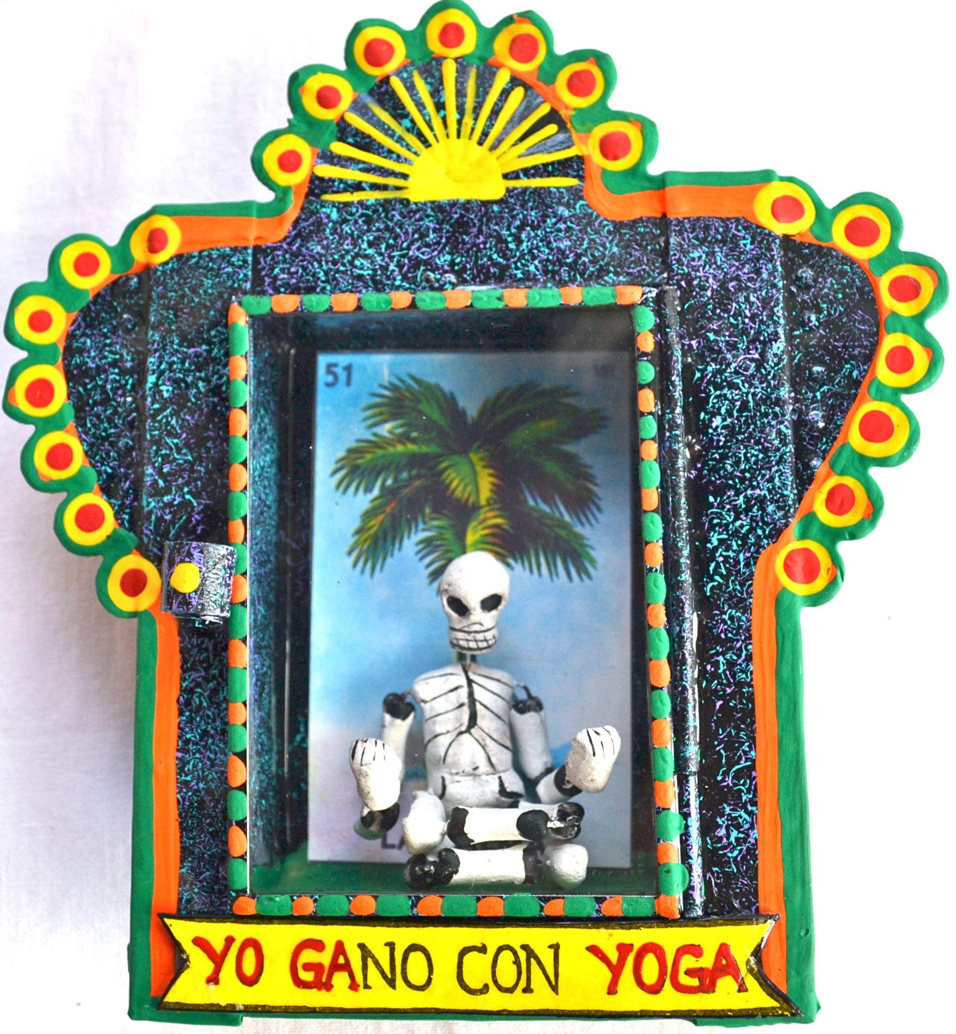 Yoga | Loteria nicho©Mexico Import Arts (Australia) | Tin Art From ...