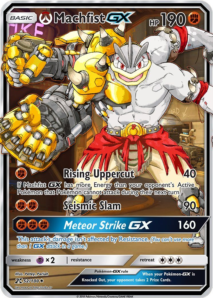 FAKE Pokemon Card Machamp EX