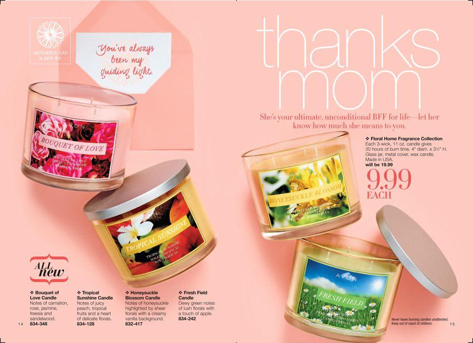 Avon candles on sale for $9.99 until 3/10! Shop online https://jlarsen4408.avonrepresentative.com/ #candles #avon #home